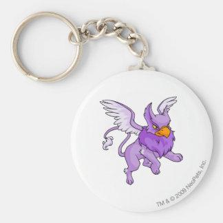 Eyrie Purple Keychain
