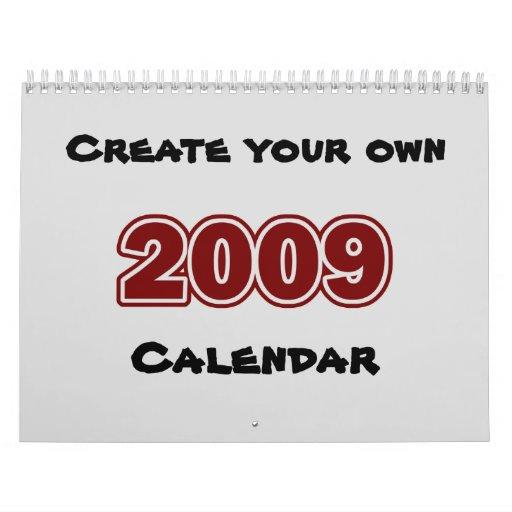 EZ 2009 Calendar Creator