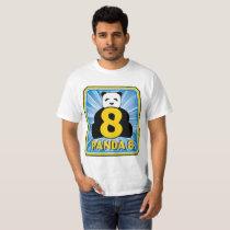 ez Baccarat panda 8 T-Shirt