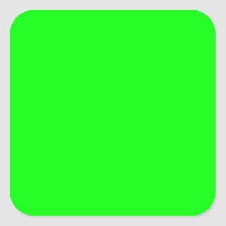 EZ-C Bright Green Toiletry Labels/ Stickers