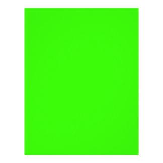 EZ-C Bright Green Writing Paper/Letterhead
