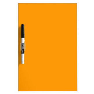 EZ-C Bright Orange Dry Erase Board