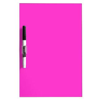 EZ-C Bright Pink Dry Erase Board