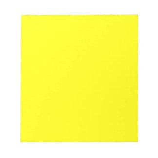 EZ-C Bright Yellow Notepads