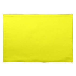 EZ-C Bright Yellow Placemat