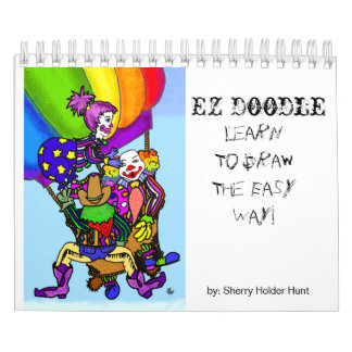 EZ Doodle - Draw on me..... - Customized Wall Calendar