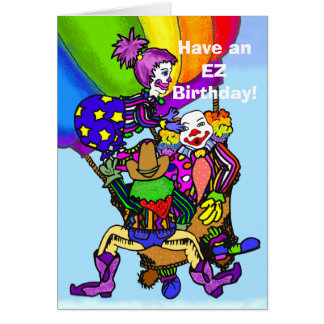 EZ Doodle- Have an EZ Birthday! 2- Customized Greeting Card