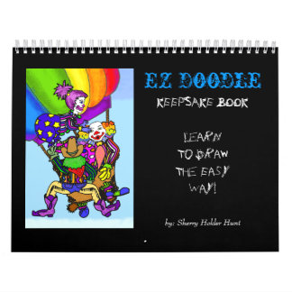EZ Doodle KEEPSAKE Book Calendar