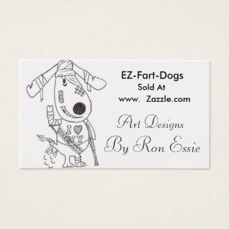EZ Fart Dogs Business Card