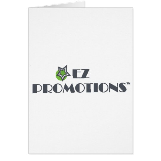 EZ Promotions Products Card