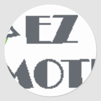 EZ Promotions Products Classic Round Sticker