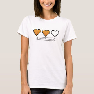 eZ Publish love meter T-Shirt (mid)