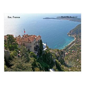 Eze, France, Photo Ola Berglund Postcard