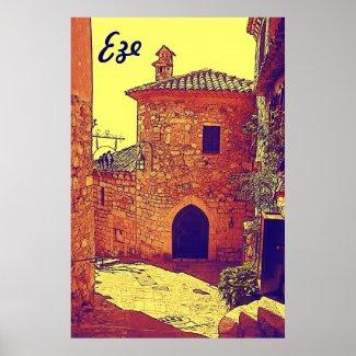 Eze poster zazzle_print