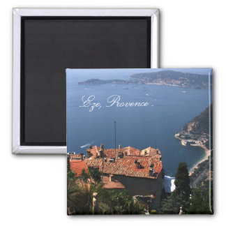 Eze, Provence 2 Inch Square Magnet
