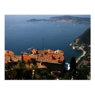 eze, Provence postcard