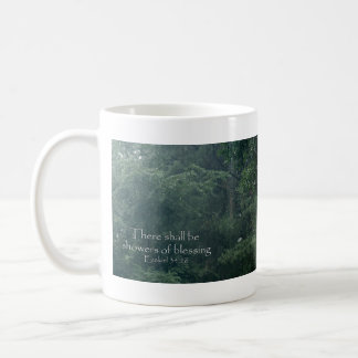 Ezekiel 34:26 There shall be showers of blessing. Coffee Mug