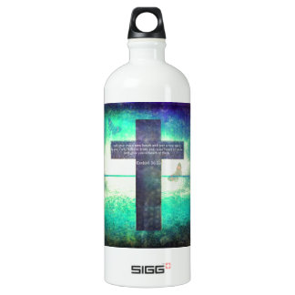 Ezekiel 36:26 Inspirational Bible Verse SIGG Traveler 1.0L Water Bottle