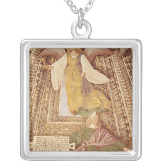 Ezekiel and Angel holding chalice of the Personalized Necklace