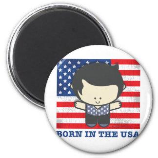 Ezekiel Born in the USA 2 Inch Round Magnet