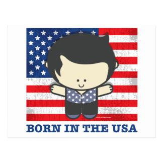 Ezekiel Born in the USA Postcard