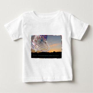 Ezekiel's Wheel at Sunset Baby T-Shirt