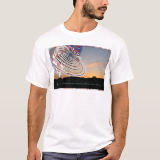 Ezekiel's Wheel at Sunset T-Shirt