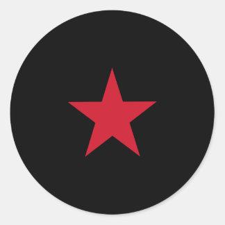 Ezln, Colombia flag Classic Round Sticker
