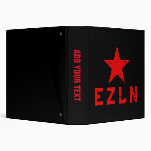 EZLN - Ejército Zapatista de Liberación Nacional Vinyl Binders