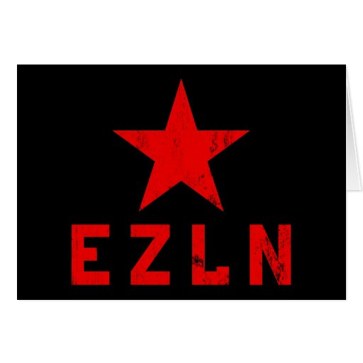 EZLN - Ejército Zapatista de Liberación Nacional Cards