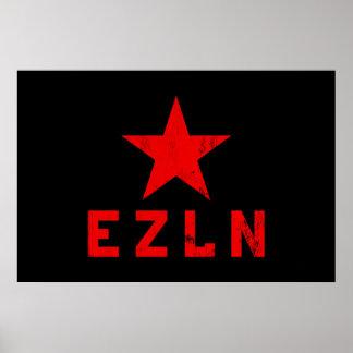 EZLN - Ejército Zapatista de Liberación Nacional Poster