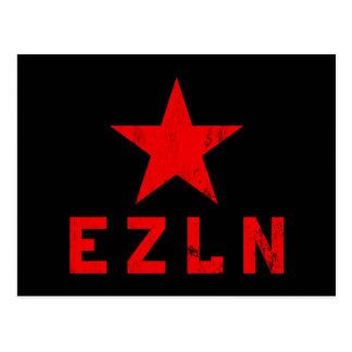 EZLN - Ejército Zapatista de Liberación Nacional Tarjeta Postal