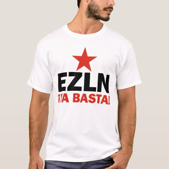 EZLN Ya Basta black T-Shirt