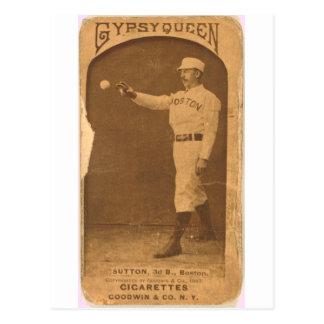 Ezra 1887 Sutton Postal