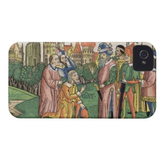 Ezra 6 16 The Temple of Jerusalem is dedicated by iPhone 4 Cover
