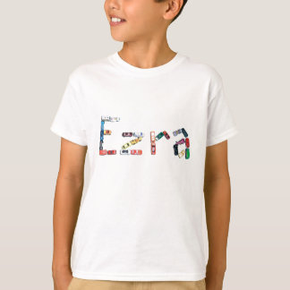 Ezra in Race Cars T-Shirt