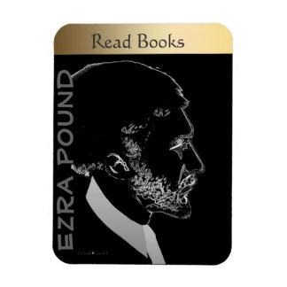 Ezra Pound Imán Rectangular