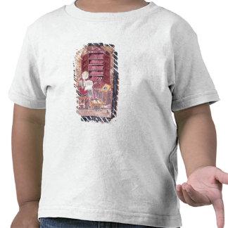 Ezra que escribe los libros sagrados camiseta