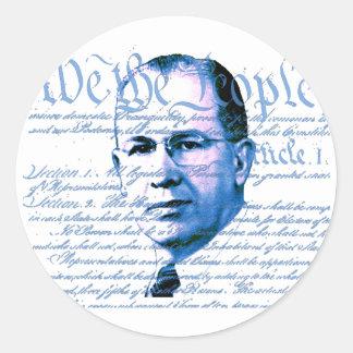 Ezra Taft Benson Classic Round Sticker
