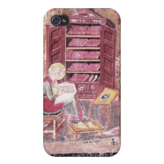 Ezra writing the sacred books iPhone 4/4S case
