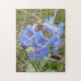 F0003 Blue Wildflowers Puzzles