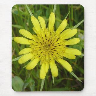 F0009 Wildflower amarillo dos Mousepad