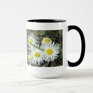F0010 White Wildflowers mug