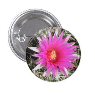 F0012 Ball Cactus (Escobaria Vivipara) 1 Inch Round Button