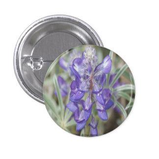 F0018 Purple Wildflowers Annual Lupine Pinback Button