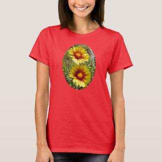 F0025w Yellow Wildflowers T-Shirt