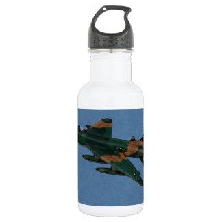 F100 Super Sabre Vietnam War Veteran Stainless Steel Water Bottle