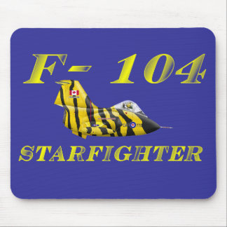 F104 Starfighter Mouse Pad