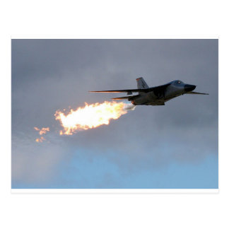 F111 Dump & Burn Postcard