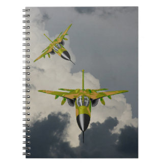 F111 FIGHTERS IN YOUR FACE NOTEBOOK